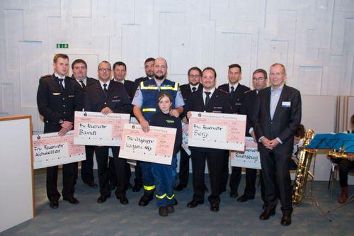Preisgekrönt 2017: Auszeichnung der Feuerwehren und Technischen Hilfswerke im Landkreis