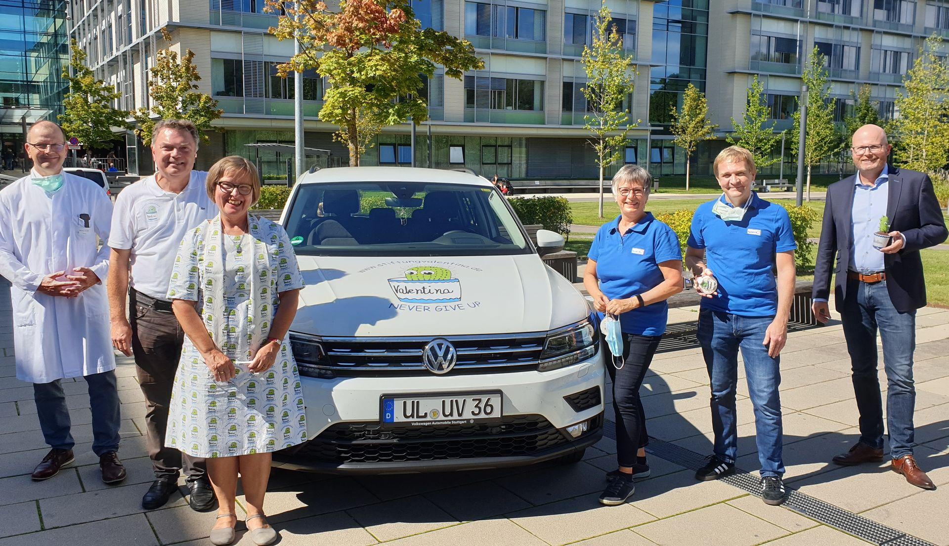 Stiftung Valentina übergibt neues Einsatzfahrzeug an PalliKJUR Ravensburg
