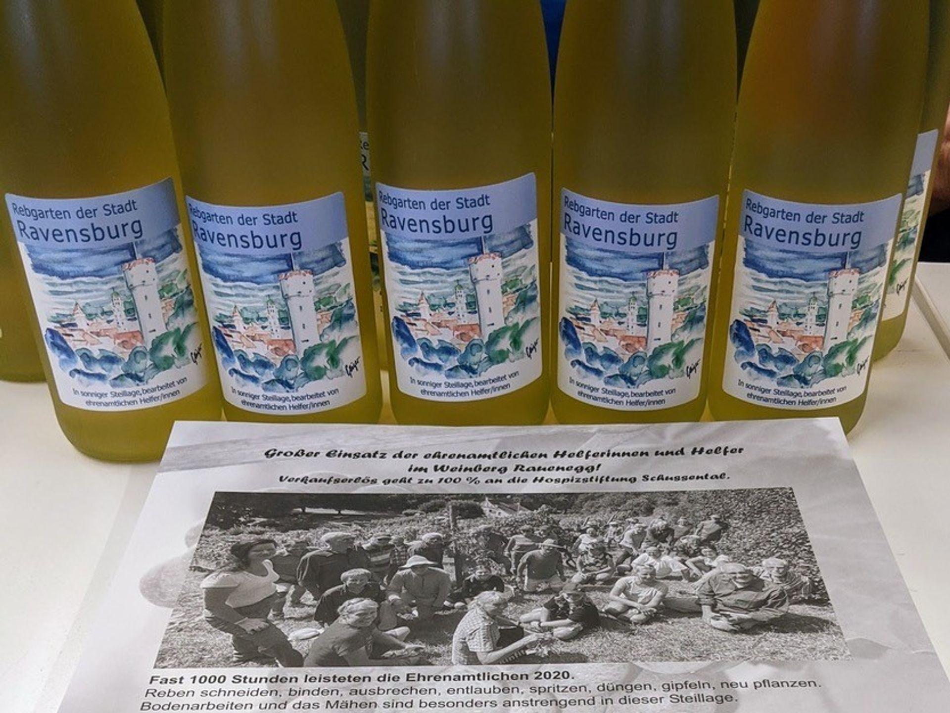 Secco-Verkauf am Rutensamstag, 24. Juli 2021 auf dem Ravensburger Wochenmarkt