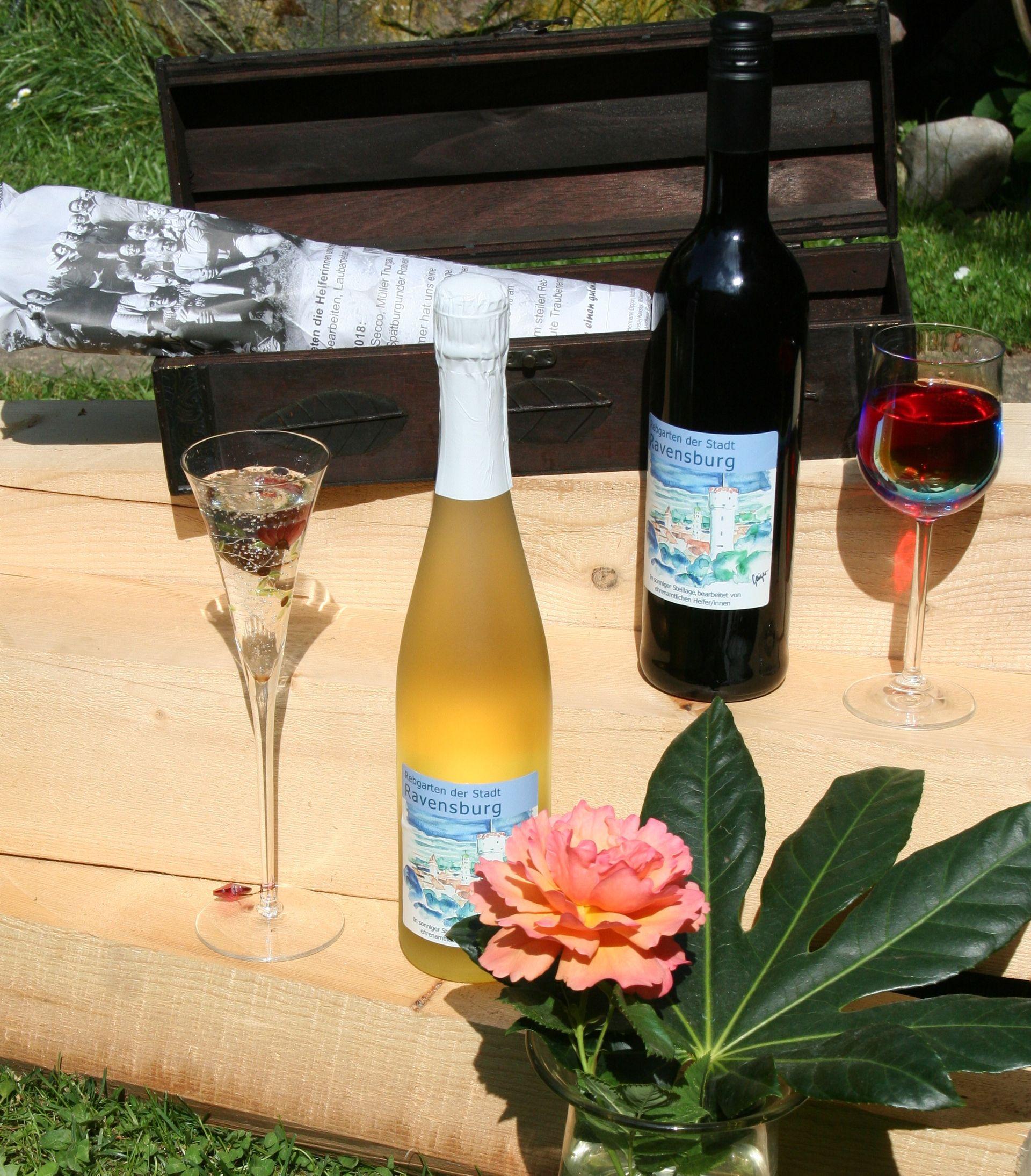 Ravensburger Wein genießen und Gutes tun!