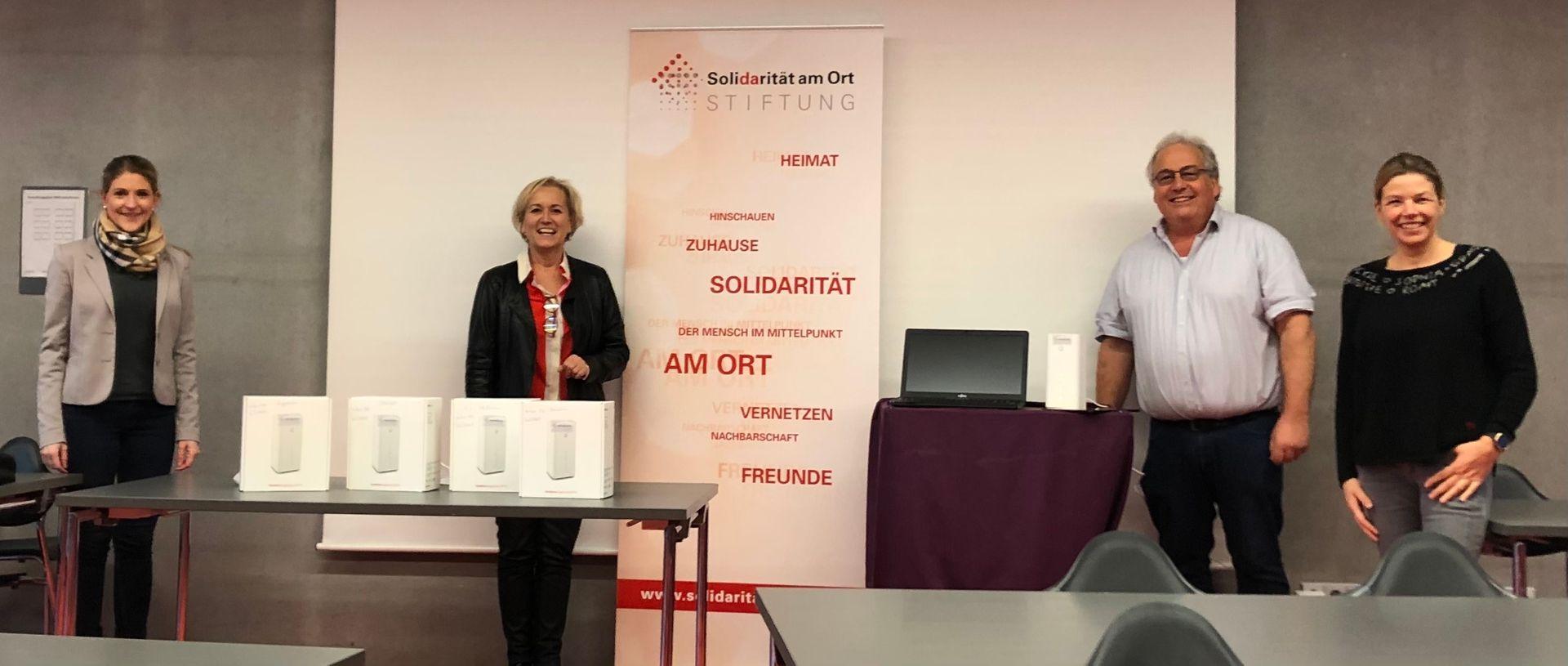 Stiftung Solidarität am Ort fördert Digitalisierung der Ravensburger Grundschulen