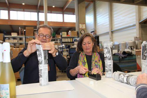 Ravensburger Sekt nach Flaschengärung über drei Jahre auf der Hefe in der Flasche gelagert