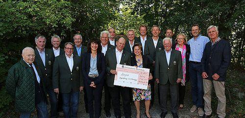 Altentrommler unterstützen neues Hospiz in Ravensburg