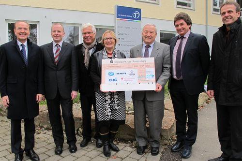 500.000 Euro für das Hospiz Schussental